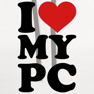 I love my PC Kids' Shirts - Contrast Hoodie