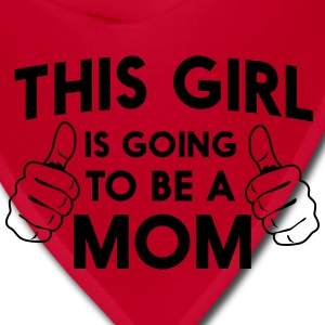 This girl is going to be a mom Women's T-Shirts - Bandana