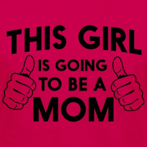 This girl is going to be a mom Women's T-Shirts - Women's Premium Long Sleeve T-Shirt
