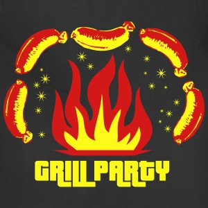 Grill Party Master Barbecue BBQ grilled delicious  - Adjustable Apron