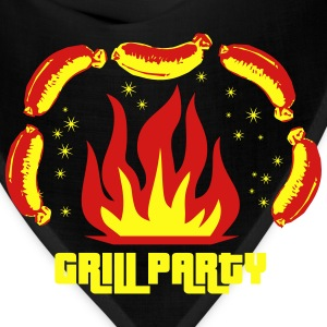 Grill Party Master Barbecue BBQ grilled delicious  - Bandana