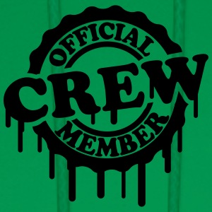 Cool Official Crew Member Stamp Design T-Shirts - Men's Hoodie
