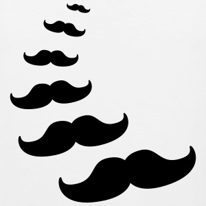 moustache Women's T-Shirts - Men's Premium Tank