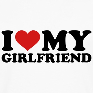 I love my girlfriend Women's T-Shirts - Men's Premium Long Sleeve T-Shirt