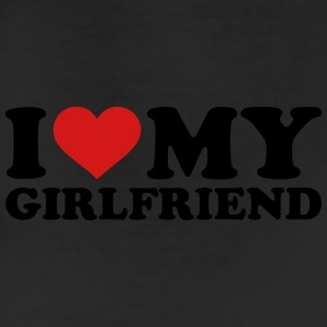 I love my girlfriend Women's T-Shirts - Leggings