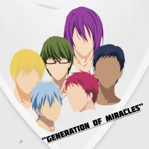Kuroko no Basuke: Generation of Miracles Women's T-Shirts - Bandana