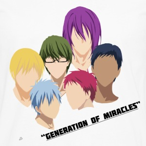 Kuroko no Basuke: Generation of Miracles Women's T-Shirts - Men's Premium Long Sleeve T-Shirt