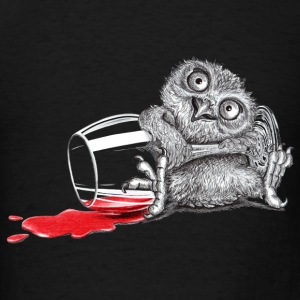 Tipsy Owl - Men's T-Shirt