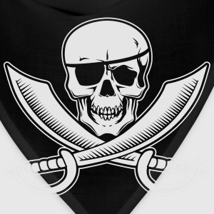 Jolly Rogers Pirate Flag with Skull and Swords Hoodies - Bandana