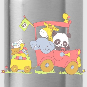 Hey little Panda where are you going? Bags & backpacks - Water Bottle