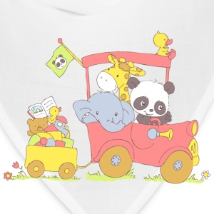 Hey little Panda where are you going? Baby & Toddler Shirts - Bandana