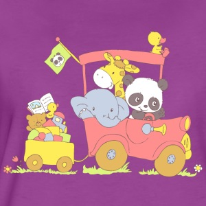 Hey little Panda where are you going? Baby & Toddler Shirts - Women's Premium T-Shirt