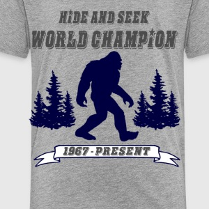 Hide and Seek World Champion - Toddler Premium T-Shirt