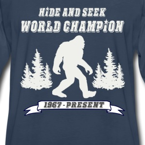 Hide and Seek World Champion Dark Tee - Men's Premium Long Sleeve T-Shirt