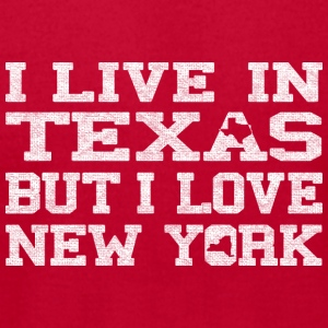 live_texas_love_new_york Baby & Toddler Shirts - Men's T-Shirt by American Apparel
