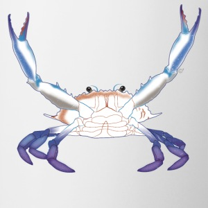 Maryland Blue Crab with arms/claws extended - Coffee/Tea Mug