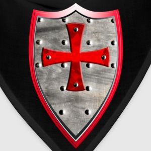 Knights Templar Crusaders Cross weapon shield men - Bandana