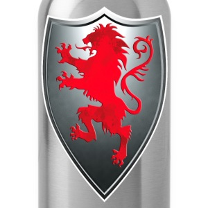 Knights Templars Crusaders Lions weapon shield Tee - Water Bottle