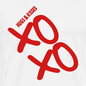 XOXO HUGS AND KISSES - Men's Premium T-Shirt