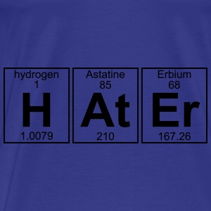 H-At-Er (hater) - Full Bags & backpacks - Men's Premium T-Shirt
