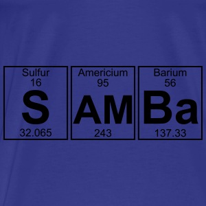 S-Am-Ba (samba) - Full Bags & backpacks - Men's Premium T-Shirt