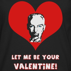 Let me be your Valentine! - black transparent - Men's Premium Long Sleeve T-Shirt