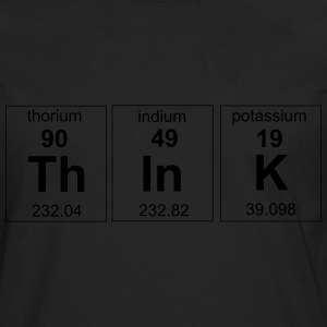 Periodic Think Element T-Shirts - Men's Premium Long Sleeve T-Shirt