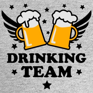 10 Drinking Team 3c Beer Bier Party Alcohol 3c Bee - Men's Long Sleeve T-Shirt