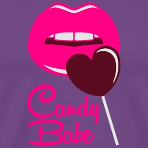 Candy Babe Hoodies - Men's Premium T-Shirt