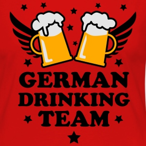 07 German Drinking Team 3c Beer Bier Party Alcohol - Women's Premium Long Sleeve T-Shirt