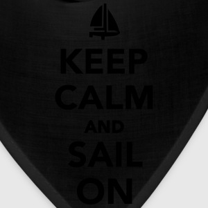 Keep calm and sail on Women's T-Shirts - Bandana
