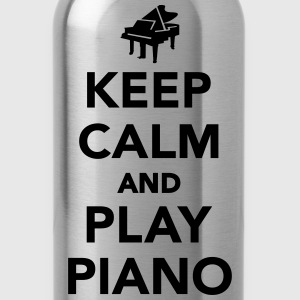 Keep calm and play piano Women's T-Shirts - Water Bottle