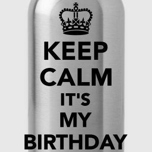 Keep calm It's my Birthday Kids' Shirts - Water Bottle