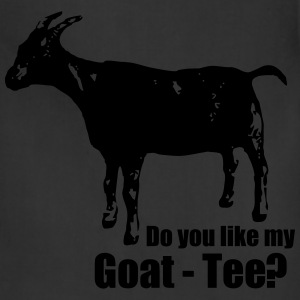 Do you like my goat-tee? - Adjustable Apron