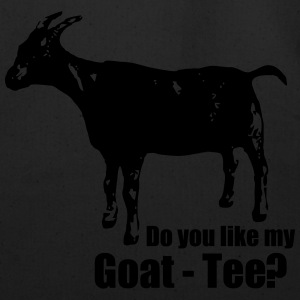 Do you like my goat-tee? - Eco-Friendly Cotton Tote
