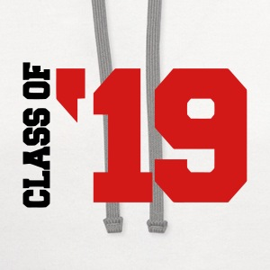 Class of '19 T-Shirts - Contrast Hoodie