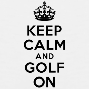 Keep calm and golf on crown Accessories - Men's Premium Tank