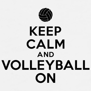 Keep calm and volleyball on Accessories - Men's Premium T-Shirt