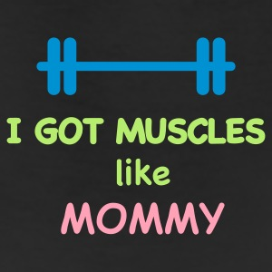 i got muscles like mommy Baby & Toddler Shirts - Leggings