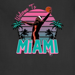 VICTRS Welcome to Miami South Beach Shirt - Adjustable Apron