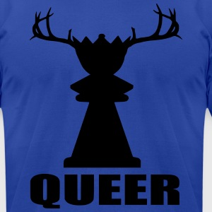 Funny Queer Hoodies - Men's T-Shirt by American Apparel