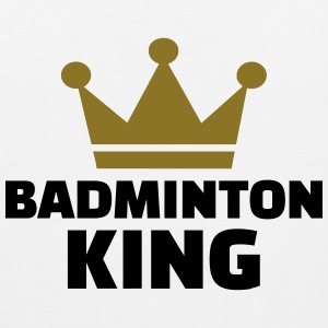 Badminton King T-Shirts - Men's Premium Tank