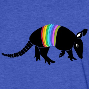 armadillo texas turkey hillbilly rainbow Sweatshirts - Fitted Cotton/Poly T-Shirt by Next Level