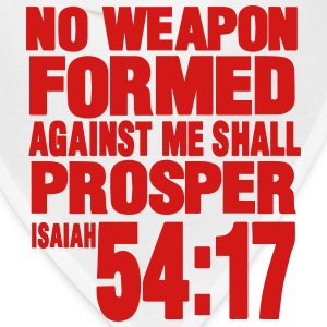 NO WEAPON FORMED AGAINST ME SHALL PROSPER Women's T-Shirts - Bandana