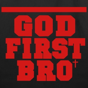 GOD FIRST BRO Hoodies - Eco-Friendly Cotton Tote
