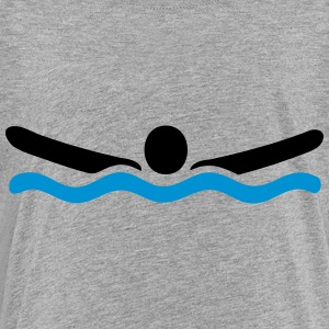 swimming Kids' Shirts - Toddler Premium T-Shirt