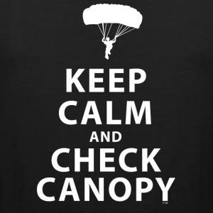 KEEP CALM AND CHECK CANOPY 2 - Men's Premium Tank