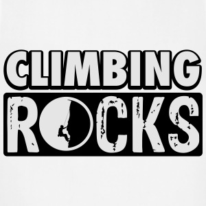 Climbing rocks T-Shirts - Adjustable Apron