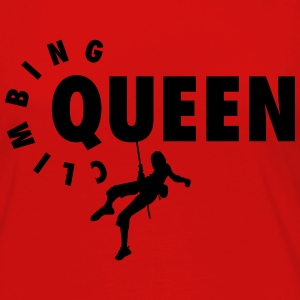 Climbing Queen Women's T-Shirts - Women's Premium Long Sleeve T-Shirt