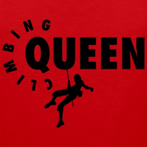 Climbing Queen Women's T-Shirts - Men's Premium Tank